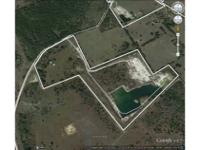 This is a commercial rock mine property, consisting of