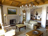 Spectacular home located adjacent to the 13th fairway