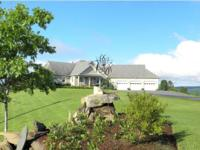 Farm offers a beautiful hilltop home with 4600 sq ft of