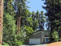 Sunshine and Redwoods at this special Scotts Valley