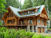 Have you been dreaming of an upscale log home that