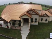 MAJESTIC STONE HOME ; 3.4+ acres. 3 spacious bedrooms