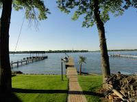Exquisite custom built waterfront home situated on 1.23