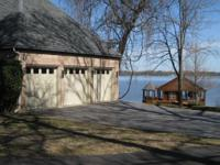 Beautiful lake home with fantastic custom features and