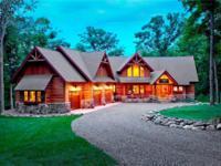 Mike Sharratt designed, custom built home on premier