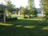 Beautiful waterfront level building site on 2.2 acres.
