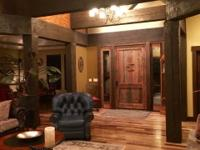 Custom home in Whitetail on just under an acre.