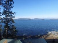 Custom craftsman style Lake Pend Oreille home located