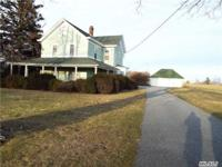 FARM HOUSE WITH LOTS OF CHARM ON 26.5 ACRES! Three