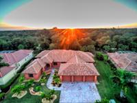 In an exclusive gated neighborhood in a sought after