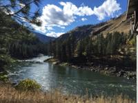 159 ACRE WILDERNESS RANCH on the SALMON RIVER, 3/4 Mile