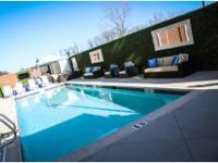 Heated pool with hot tub and poolside cabanas, Private