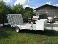 3 Bike Mototcycle Trailer in Excellent Condition. Ride