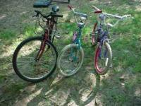 Take your pick or take all. 2 girl bikes and 1 mountain