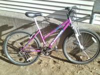 "3 bikes, one price. Magna Great Divide girls 24"" bike."