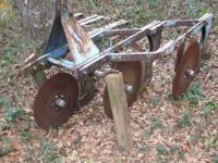 3 blade heavy duty turning plow with root