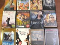 DVDs in great condition, widescreen, w/ case/cover