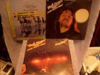 I HAVE 3 BOB SEGER RECORD ALBUMS FOR SALE. THEY ARE IN