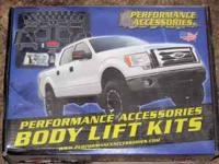 "3"" Body Lift for a 97-2002 Ford F150 4x4, comes with"