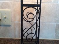 3 Bottle Wine Rack. Excellent condition, bought a