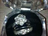 3 Carat White Gold And Diamond wedding set from Samuels