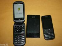 Total of 3 Phones - LG (LG840G) + Case IMEI: