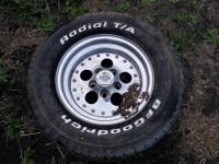 We have three Cragar GT wheels P295/50R15 104S with