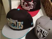IM SELLING 3 SNAPBACKS. NEW . I GOT A CHICAGO BULLS
