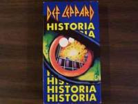 "Def Leppard "" In the Round-In Your Face"" Vhs Def"