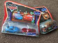 MCQUEEN CARS THA ARE BRAND NEW AND HAS NOT BEEN OPENED