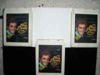 3 Elvis collector 8-tracks good shape,will ship.Call or