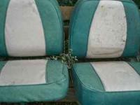 3 SEATS NO PEDISTALS NOT BAD SHAPE MAYBE TRADE CALL