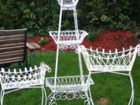 For Sale 3 ornate wire fixtures. These are very high