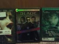 I've got Net.Games/ Blade Trinity unrated/ Lady in the