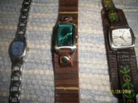 I have 3 Fossil watches. All in excellent condition.