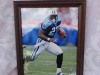 I have for sale three official NFL 8X 10 framed