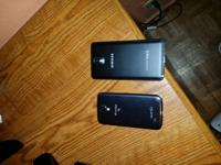 I have 2 samsung galaxy note 3 sprint phones one is