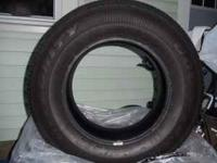Selling 3 used Goodyear Integrity tires size 235/70R16