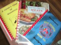 3 Grange type cookbooks. All have soft covers and