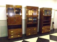 Type: Furniture Type: Cabinets Three different gorgeous