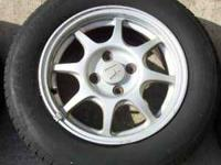 "I have for sale only (3) Honda Civic !4"" HX Wheels/Rims"
