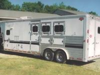 FOR SALE: 1999 HART 3 steed all aluminum trailer with