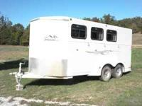 07 titan 3 horse slant great shape $5,200.00 must sell