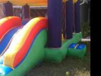 SPECIAL ONLY $85.00 3IN 1 INFLATABLE SLIDE WITH BOUNCY