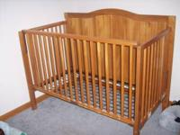 Crib is sturdy, comes with all hardware and tools, just