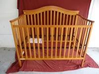 3-in-1 Delta Children's Products Crib Crib converts to