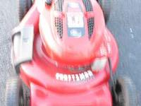 3 In 1 Self propelled craftsman mower.Great condition 2