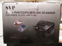 Converts your photo prints, slides and negative films