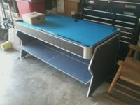 Hey, I have a 3 in 1 pool table. It consists of an air