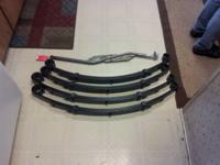 I have a set of 3 inch trail gear lift springs for a